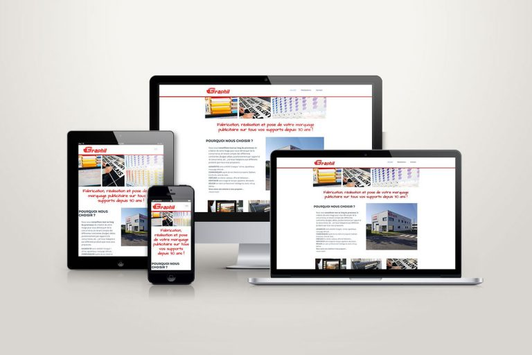 Site responsive Graphil